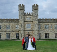 Award_winning_Your_toastmasters_with_newlyweds_at_Leeds_Castle