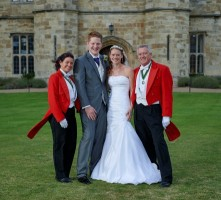 The_happy_couple_at_leeds_castle_with_Kent_toastmasters_yourtoastmasters
