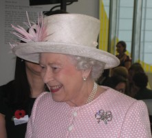 HRH The Queen at Turner Contemporary Margate