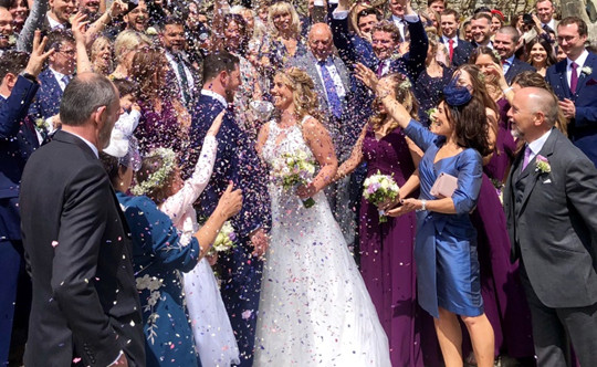 On the 4th May 2019 the sun shone for the wedding of Ellen Paul at Port Lympne Hotel Reserve such a fabulous day for all