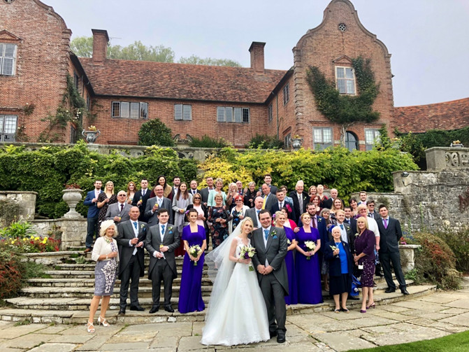 Port Lympne Hotel Reserve was the wonderful setting for the wedding of Joanna Tom on 6th October 2018. Everyone had a super time with lots of love in the air