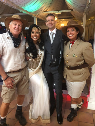 Port Lympne Hotel and Reserve was the perfect setting for such a beautiful elegant wedding for Ben Arisha on the 6th July 2019. We were honoured to have been part of their special day
