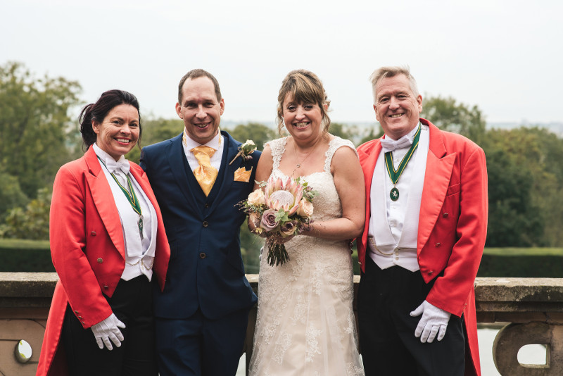 Simon Ann Trendell Wedding Toastmasters at Port Lympne Your Toastmasters