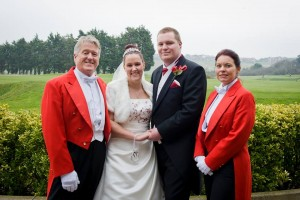 The wedding of Stephanie & Peter on 9th March 2013 was a first for Your Toastmasters!  Stephanie from the ages of 5 - 11 was an ex pupil of both Nikki & Jonathan - we were delighted to have been part of her special day.