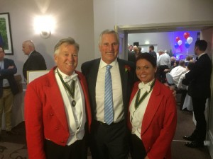 Your Toastmasters were Masters of Ceremonies at the Kent County League Awards ceremony in June 2015 at the Great Danes Mercure Maidstone.  Jonathan was delighted to host the Q&A session with football legend Ray Clemence
