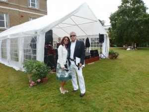 'Vintage Vibe' music event in Quex Gardens in July 2014