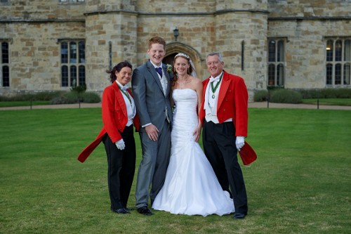Having been toastmasters at the groom's parents renewal or wedding vows we were honoured to have been asked to be toastmasters for Michael & Eleanor Wellard at Leeds Castle