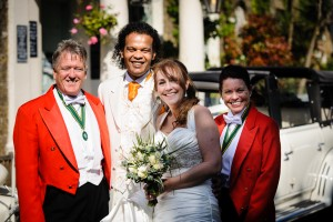 Your Toastmasters were delighted to be toastmasters for Jackie and Chris for their wedding ceremony at St Mary's Church, Minster and Jamaican style wedding breakfast and reception at The Grove Ferry Pantry & Inn, Upstreet 25th May 2013.